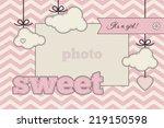 baby shower invitation ...   Shutterstock .eps vector #219150598