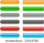 web shiny buttons. vector... | Shutterstock .eps vector #21915781