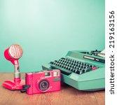 Retro Journalism Equipments ...