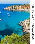 es vedra island of ibiza  cala... | Shutterstock . vector #219164188