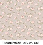 seamless floral pattern with... | Shutterstock .eps vector #219193132