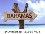 Bahamas Wooden Sign With A...