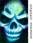 Evil Mask Of Neon Doom