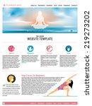spa salon website landing page...