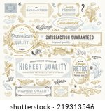 Vintage Vector Design Elements...