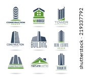building and construction icon... | Shutterstock .eps vector #219337792