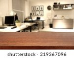 brown top and office  | Shutterstock . vector #219367096