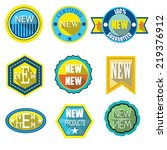 new logo badges and labels | Shutterstock .eps vector #219376912