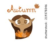 autumn | Shutterstock .eps vector #219378346