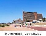 durban  south africa  ... | Shutterstock . vector #219436282