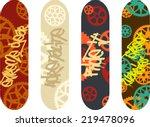 vector skateboard design pack...