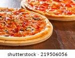 tasty pizza | Shutterstock . vector #219506056