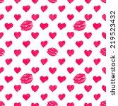 seamless pattern background... | Shutterstock .eps vector #219523432