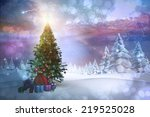composite image of christmas... | Shutterstock . vector #219525028