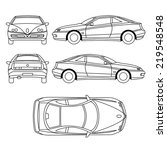 transportation vehicle | Shutterstock .eps vector #219548548