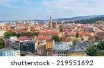Cluj Napoca upperview