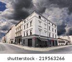 Rainy Sky Over Street Corner I...
