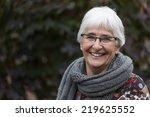 portrait of a dutch elderly...   Shutterstock . vector #219625552