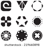set of business icons | Shutterstock .eps vector #219660898