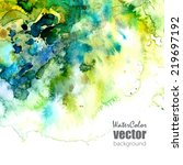 vector card  template with...   Shutterstock .eps vector #219697192