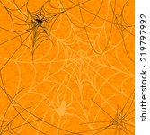 spiders and web over abstract... | Shutterstock .eps vector #219797992