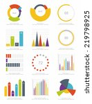 set of infographics elements | Shutterstock .eps vector #219798925