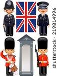 Постер, плакат: A Royal Guard at