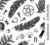 Witchcraft Seamless Pattern....