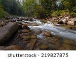 beautiful view of mountain... | Shutterstock . vector #219827875