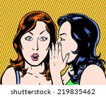 big secret comic pop art