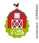 farm graphic design   vector... | Shutterstock .eps vector #219858262
