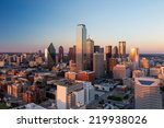 dallas  texas cityscape with... | Shutterstock . vector #219938026