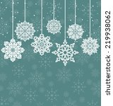 illustration christmas... | Shutterstock .eps vector #219938062
