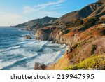 Seascape In Big Sur In...