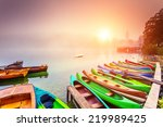 Majestic Colorful Scenery On...