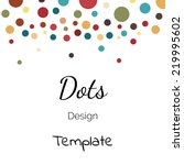 Dots Color Design Template