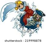 clip art illustration of a... | Shutterstock . vector #219998878
