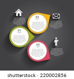 infographic templates for... | Shutterstock .eps vector #220002856