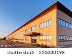 exterior of industrial building ... | Shutterstock . vector #220030198