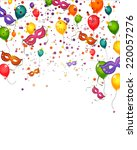 celebration card   vector | Shutterstock .eps vector #220057276