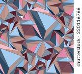 geometric seamless background.... | Shutterstock .eps vector #220116766