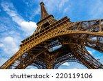 Gorgeous Wide Shot Of Eiffel...
