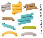 web ribbons set | Shutterstock . vector #220138696
