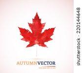 abstract modern polygonal... | Shutterstock .eps vector #220144648