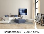 3d rendering of living room... | Shutterstock . vector #220145242