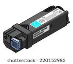 a laser printer toner cartridge ... | Shutterstock .eps vector #220152982
