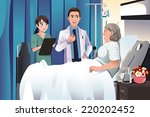 a vector illustration of doctor ... | Shutterstock .eps vector #220202452