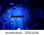 hardware in blue light | Shutterstock . vector #22021036