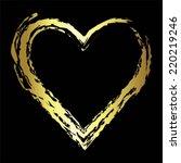vector illustration of golden... | Shutterstock .eps vector #220219246
