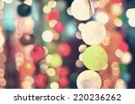 vintage party night with a... | Shutterstock . vector #220236262